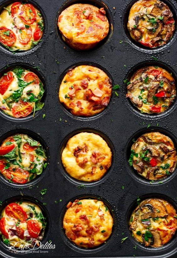 Mini Frittata Muffins Recipe