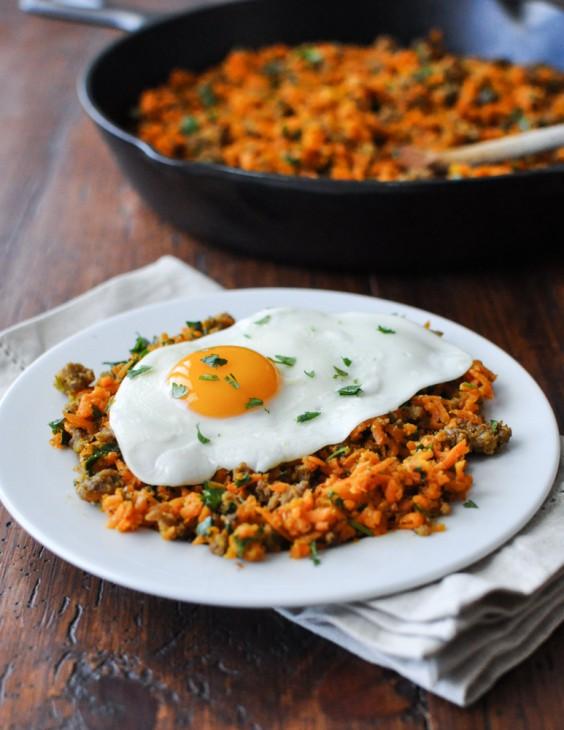 Shredded Carrot Breakfast Hash Recipe