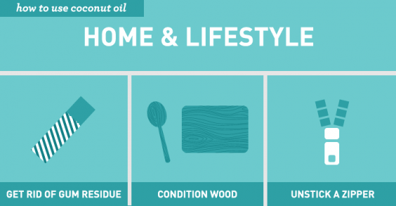 Genius Ways to Use Coconut Oil: Home & Lifestyle