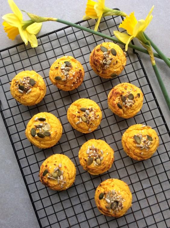 7. Whole Orange and Butternut Squash Breakfast Muffins