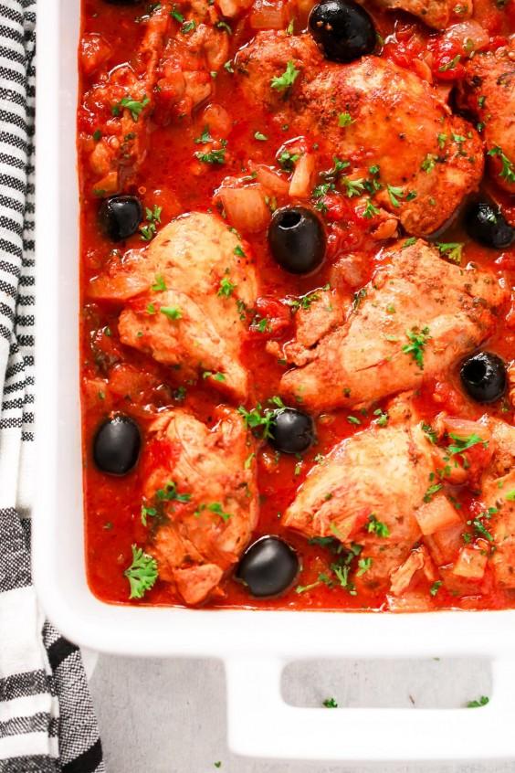 Instant Pot Mediterranean Chicken Recipe