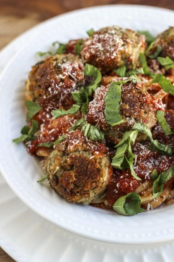 Italian Lentil Veggie Quinoa Balls