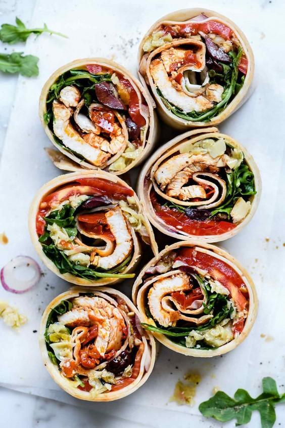 Italian Chicken Wrap Recipe