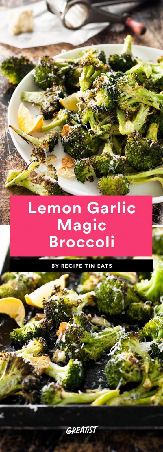 Lemon Garlic Magic Broccoli Recipe