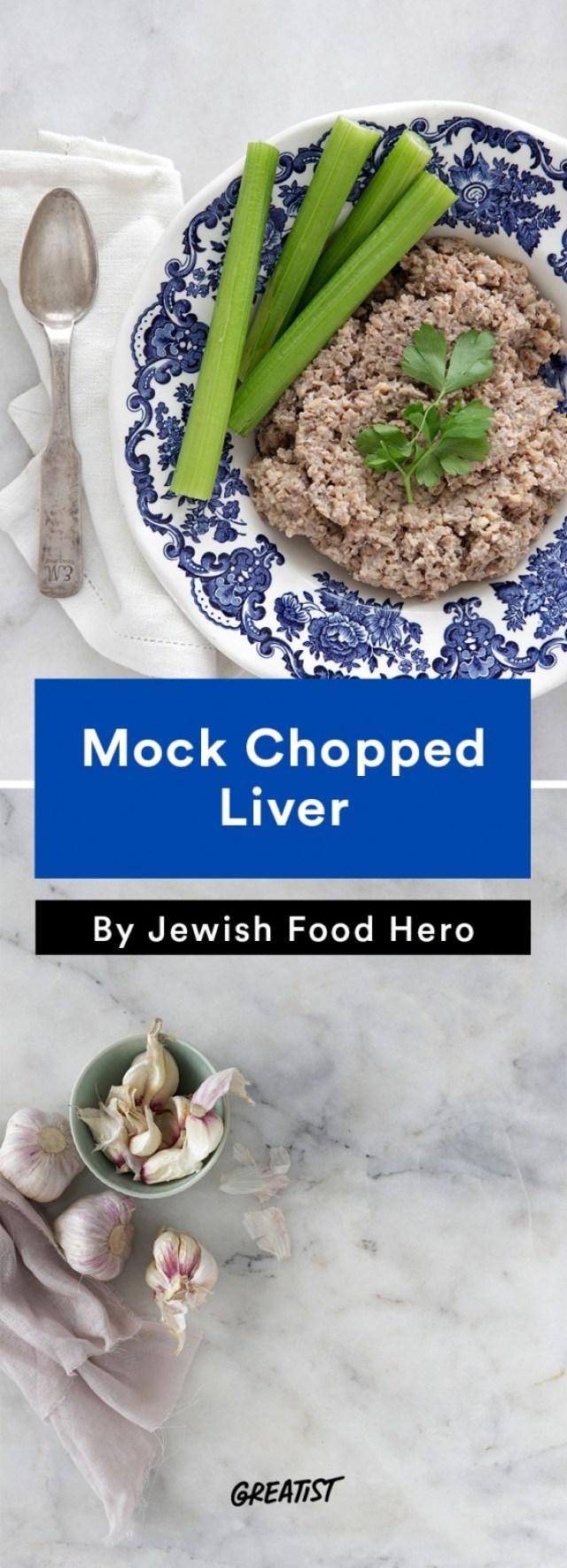 jewish food hero: Mock Chopped Liver