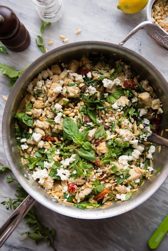 One-Pot Mediterranean Chicken Pilaf Recipe