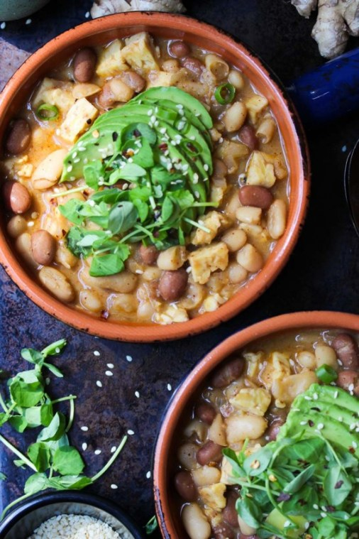 Veggie Chili: Miso Tempeh