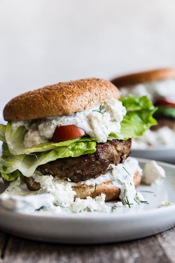 Mediterranean Turkey Burger Recipe