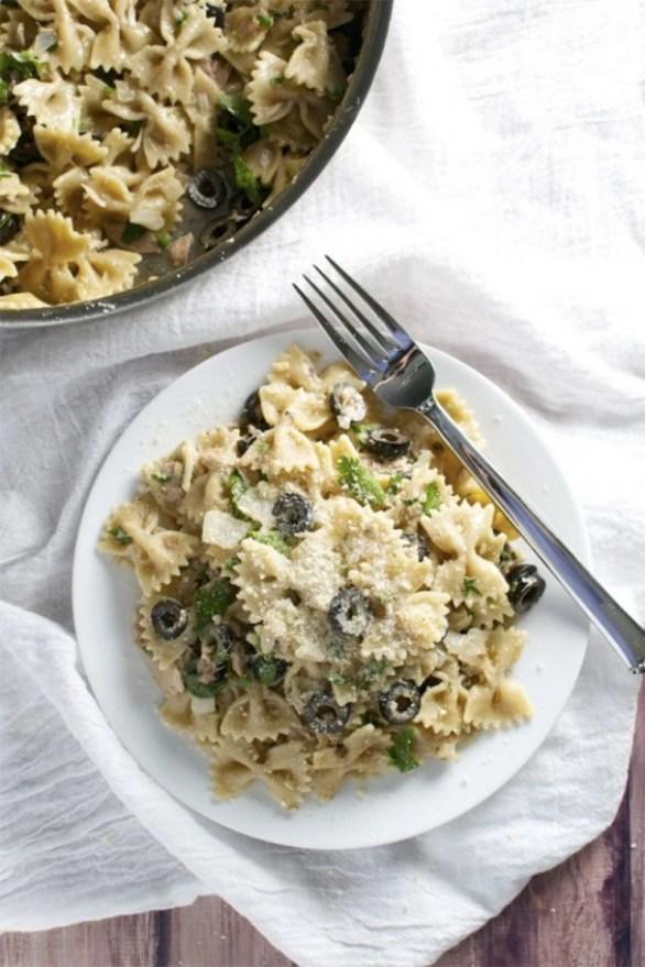 Tuna and Olive Pasta