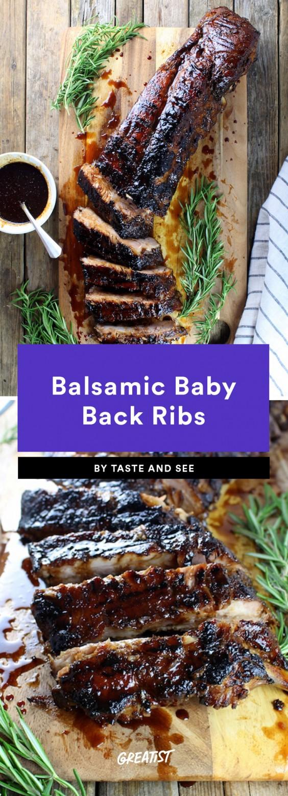 balsamic baby back ribs