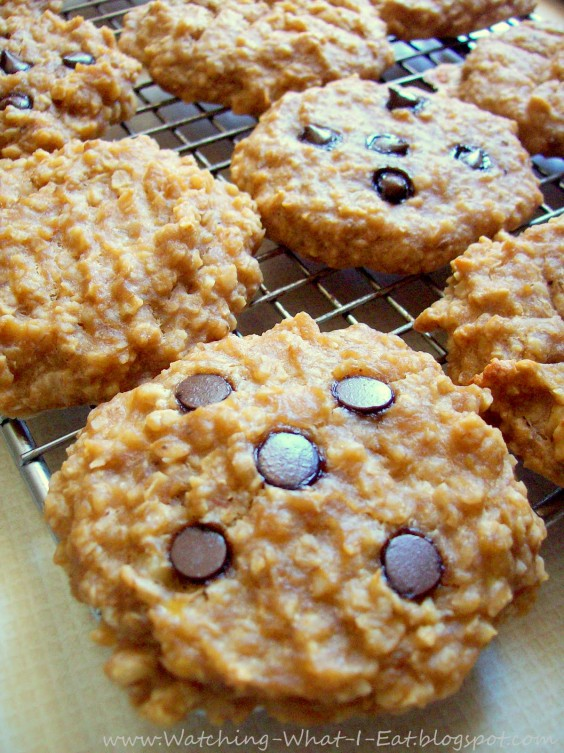Peanut Butter Banana Oatmeal Breakfast Cookies