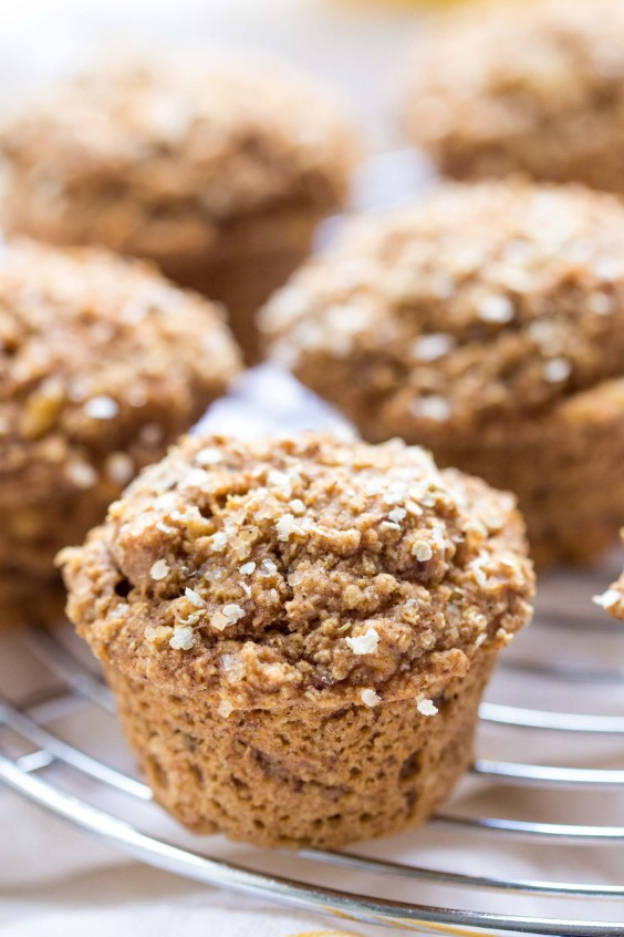 Coconut Yogurt Quinoa Muffins