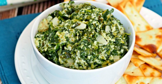 Spinach dip has never been so good.