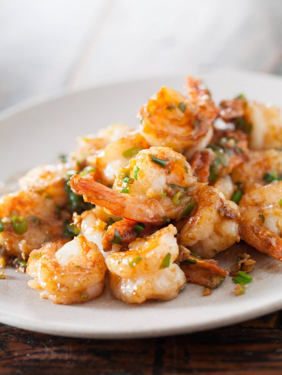 Asian Shrimp Stirfy
