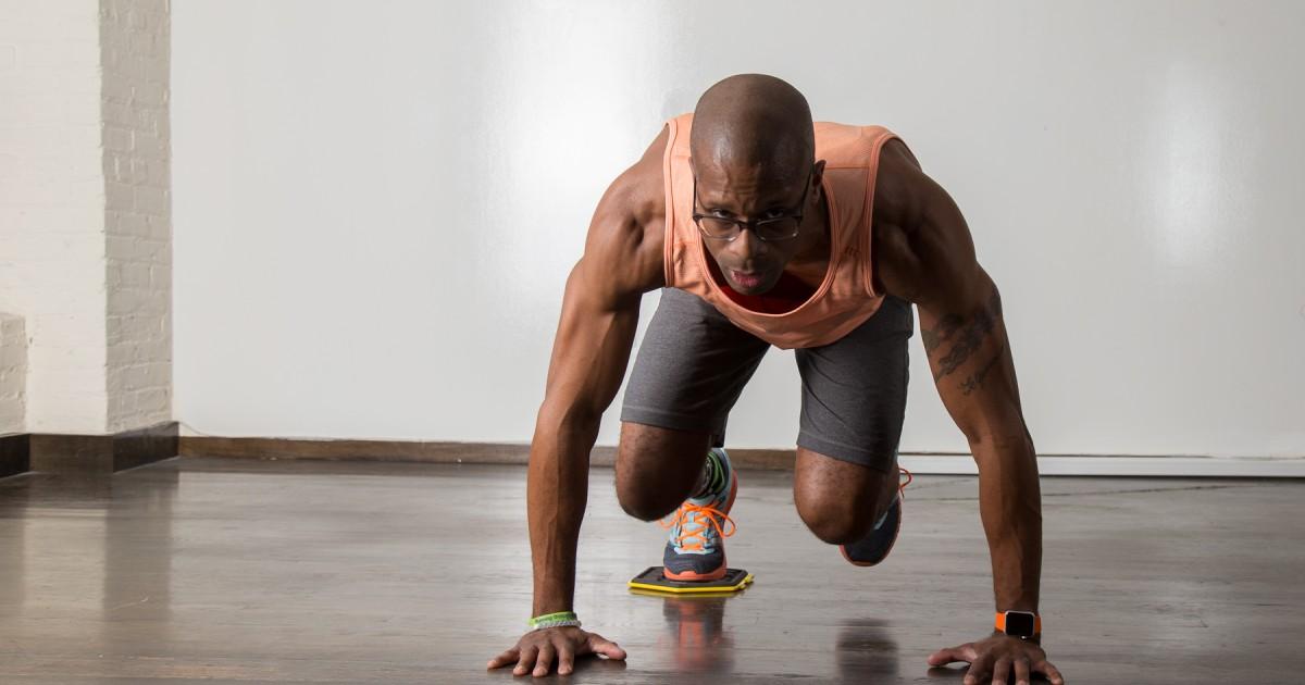 31 Bodyweight Exercises Using Sliders  Greatist