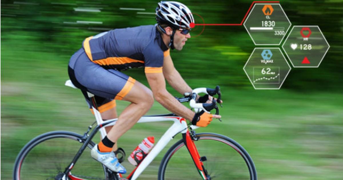 Smart Bike Helmet Brings Fighter Pilot Tech To Fitness Tracking Greatist