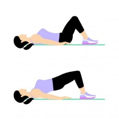 7 Min Workout: Hip bridge