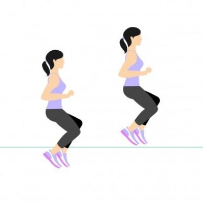 7 Min Workout: Line jump