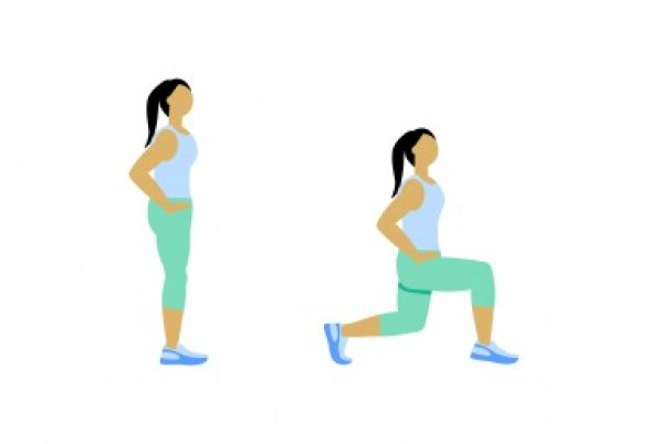 7 Minute Workout: Lunge