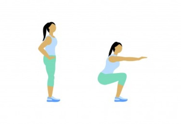 7 Minute Workout: Squat
