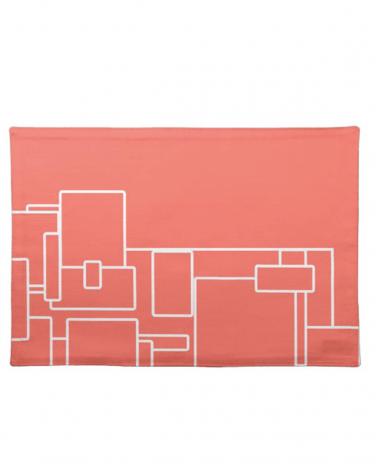 Kisasa HOME Abstract Design Cloth Placemat
