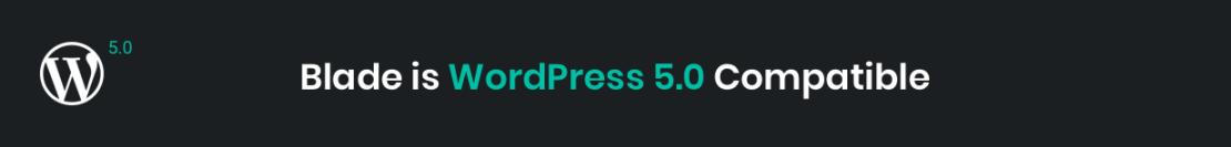 Blade WordPress 5.0