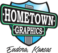 Logo Hometown Graphics, Eudora, KS