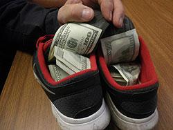 Customs Seizure Arizona Shoe