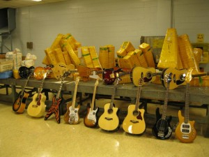 Counterfeit Guitar Seizures