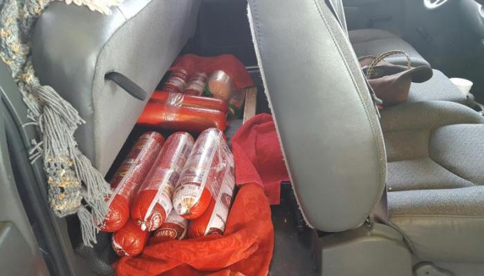 Bologna placed under the rear seat of a vehicle was made part of an amended customs declaration