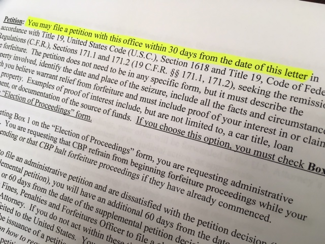 Us Customs Seizure Letter.Don T Take Legal Advice From Cbp Great Lakes Customs Law