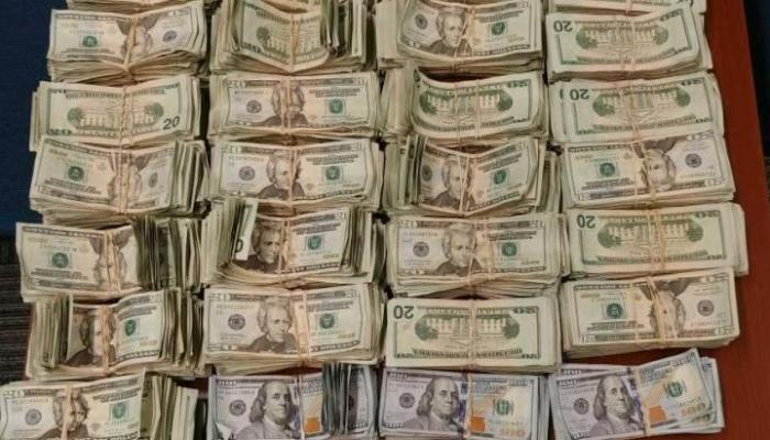 $140k in Cash Bundles seized by CBP Laredo