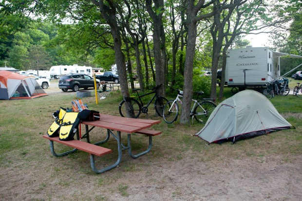 Bike Touring in Michigan