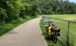 Local Bike Touring in Michigan - Rochester to Algonac State Park