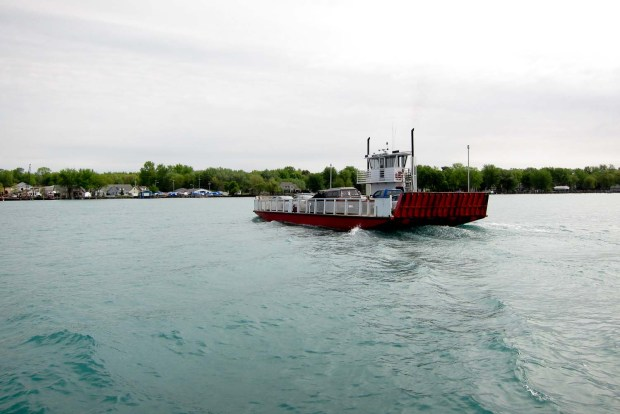 Harsens Island ferry