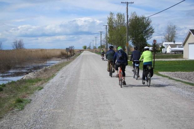 Bike Ride On Harsens Island