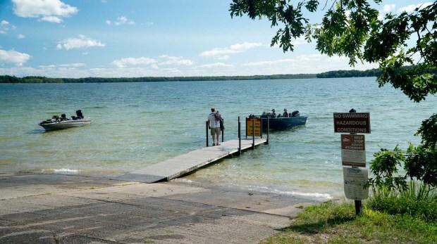 Interlochen State Park boat launch