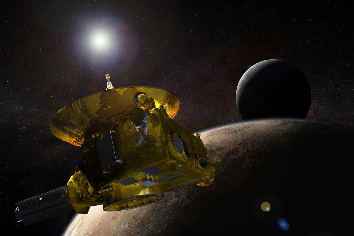 NASA's New Horizons detects anomaly ahead of next flyby