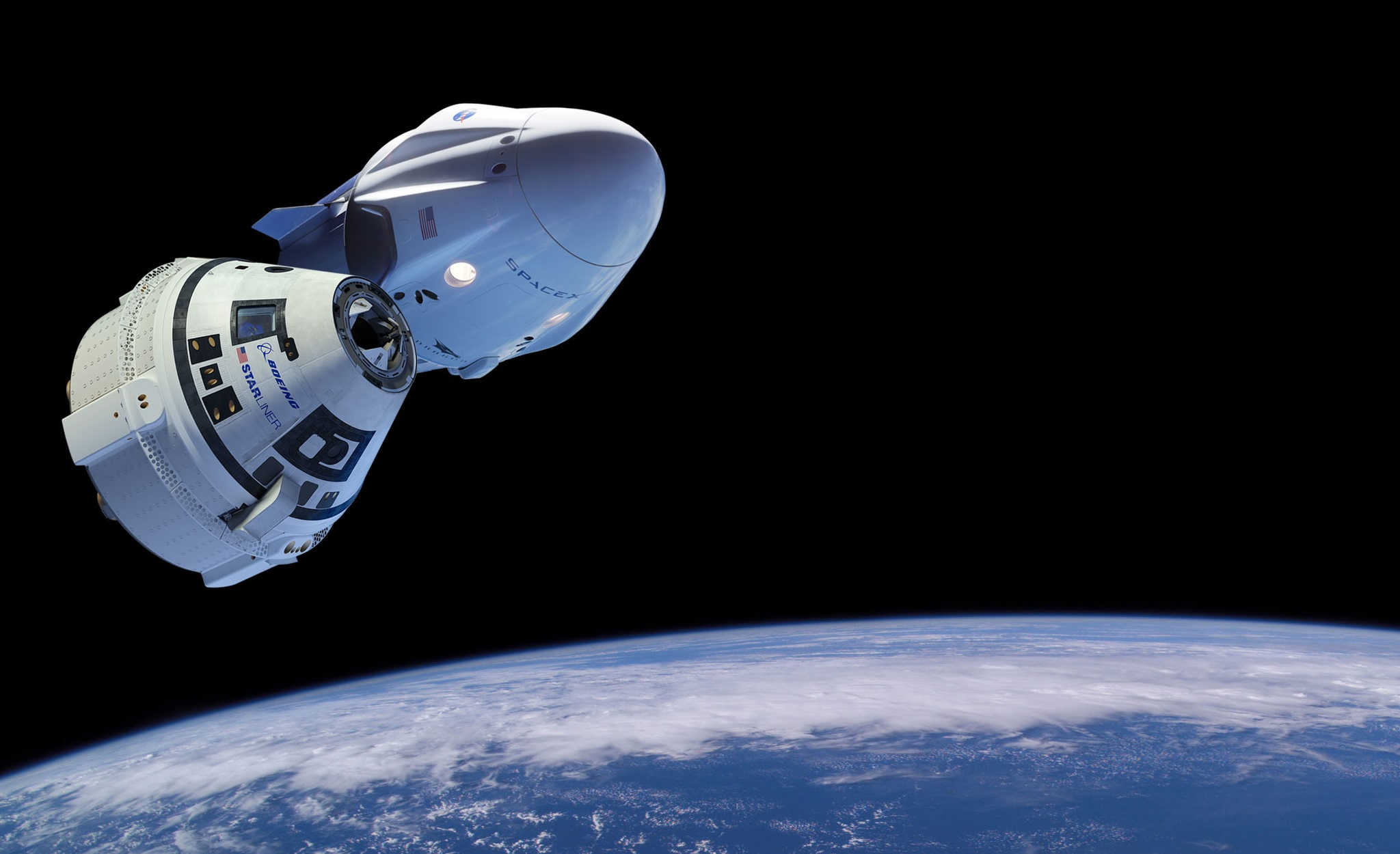 Capsule to carry US astronauts to be tested in March
