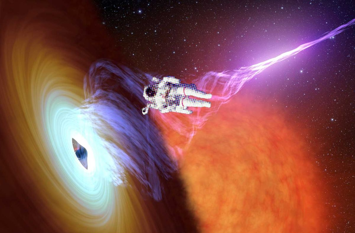 Aliens Are Shooting Lasers At Black Holes To Travel To Other Galaxies