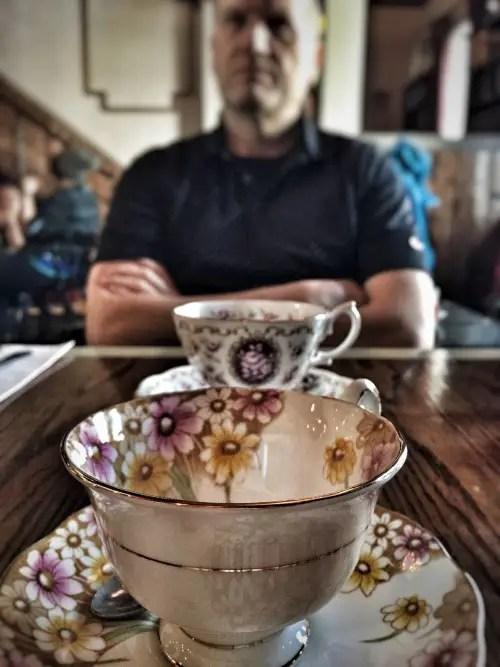 Cardinal Teacup
