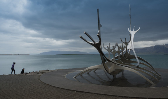 Kasm & Baharak Viking Sculpture