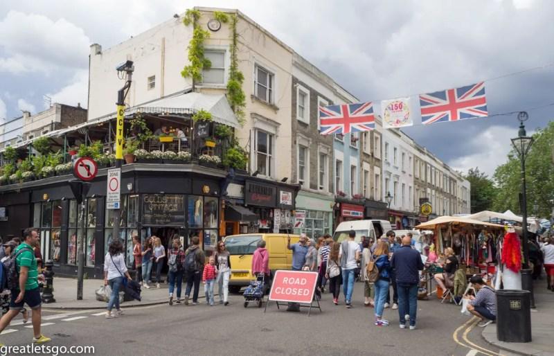 Portobello Market, London