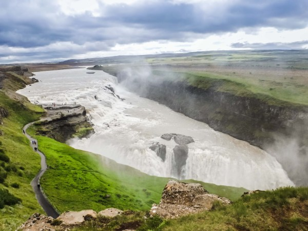 Gulfoss Waterfall - Iceland