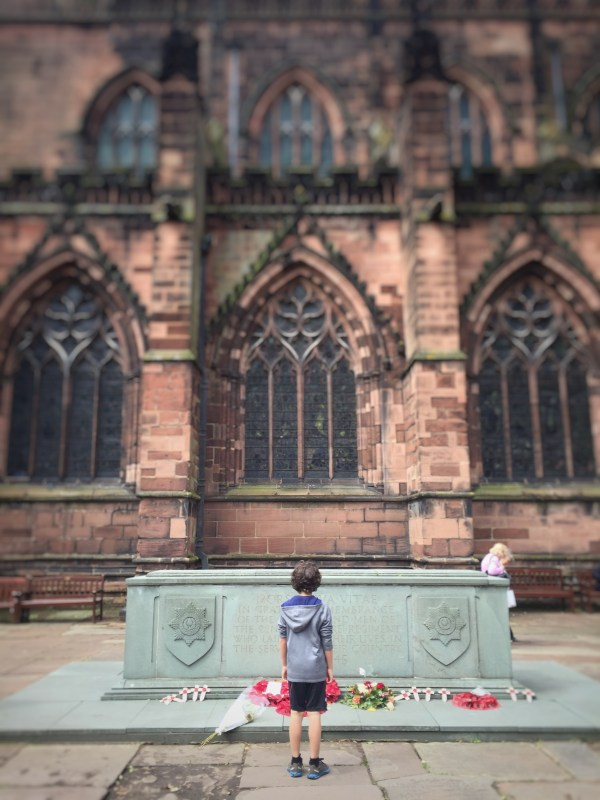 WWII Memorial - Chester Cathedral