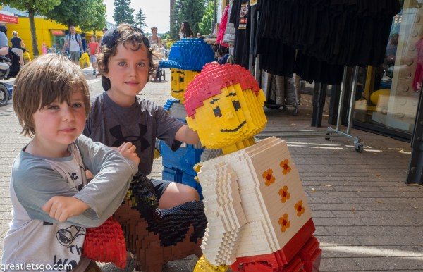 Kasm & Caelen at Legoland
