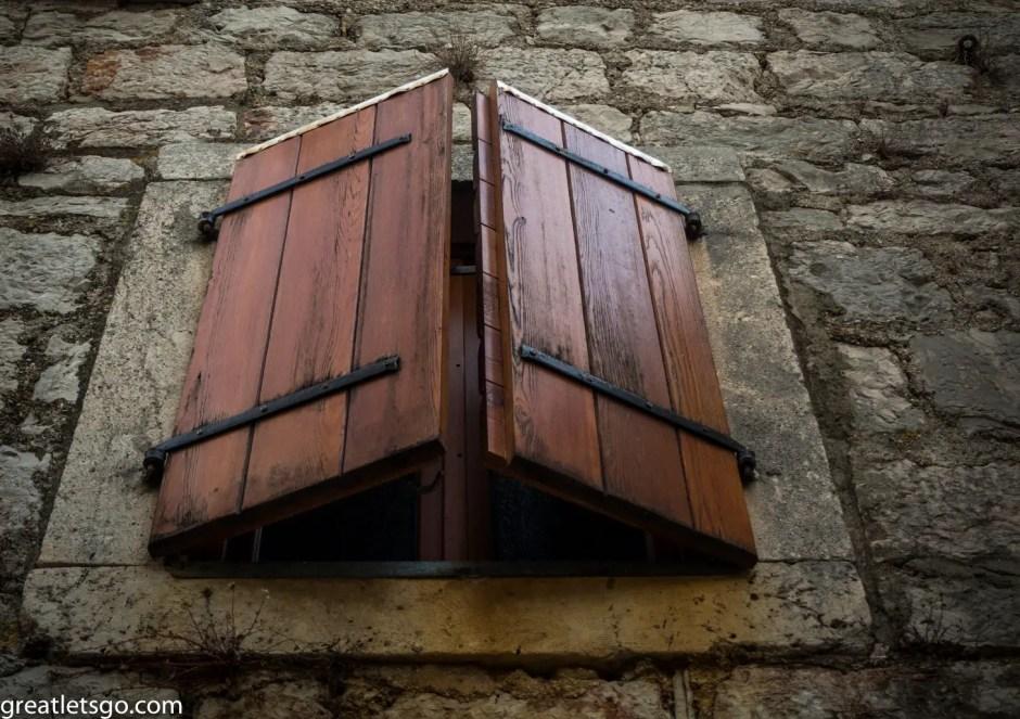 window Stari Grad, Croatia