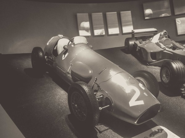 The First Ferrari F1