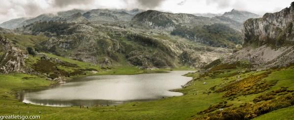 Lago Ercina, atop the Picos de Europa