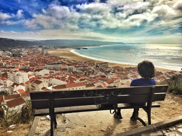 The view Nazare Portugal